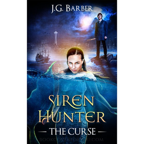 Book cover for Siren Hunter