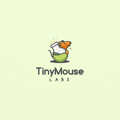 Fun Logo concept for TinyMouse Labs