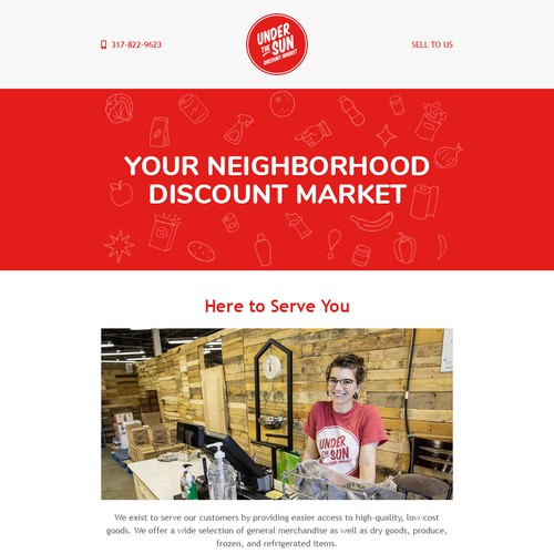 Red Email Design