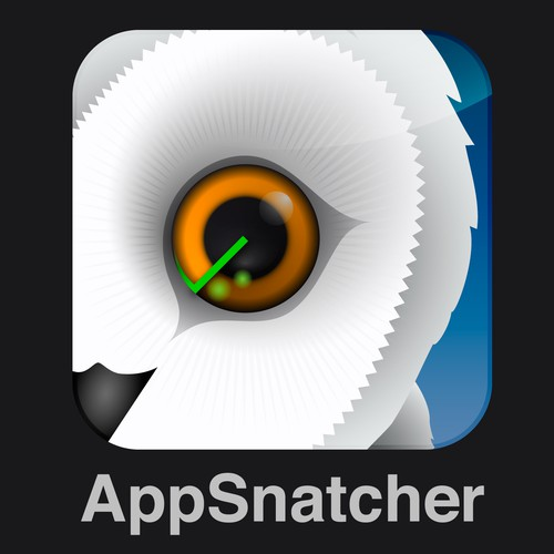Stunning app icon for iPhone app search engine (for kickass MIT startup)