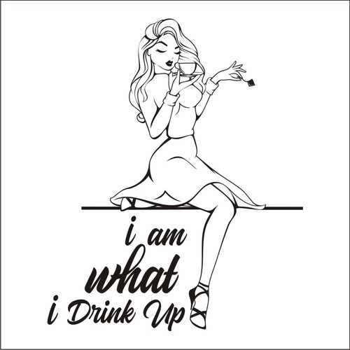 i am what i drink up