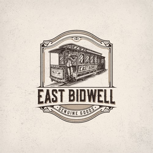 Victorian logo badge for East Bidwell