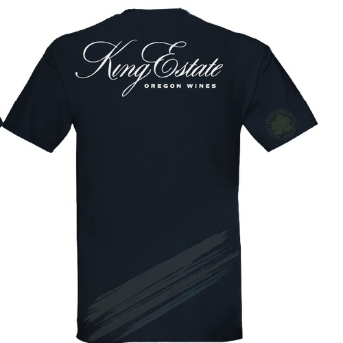 New t-shirt design wanted for KING ESTATE WINERY