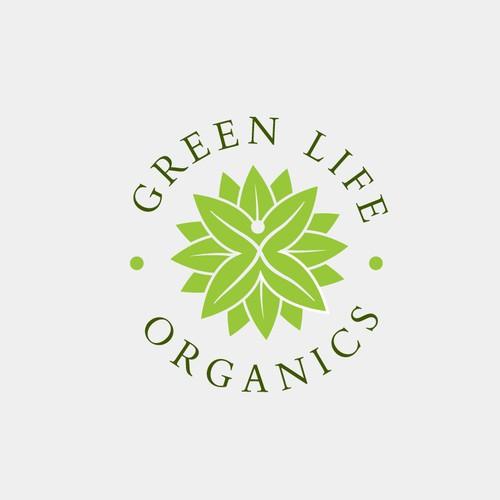 Green Life Organics Logo