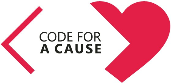 """Create identity for """"code for a cause"""" workshop series"""