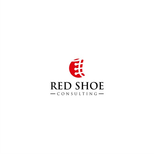 modern and clean design for Red Shoe Consulting