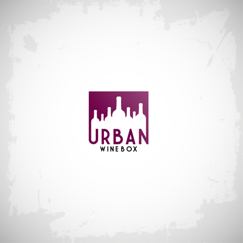 bold logo for wine company