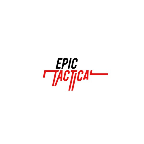 Lettering logo for firearms blog