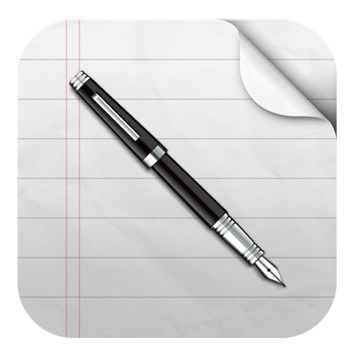Write Documents iOS app icon