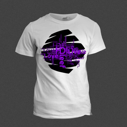 HDI T-Shirt Design by Skn DESIGN