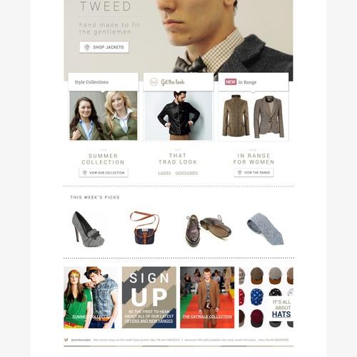 Windsor & Wales needs a new website design