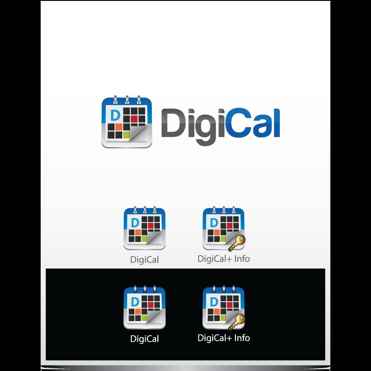 Logo Redesign: DigiCal, New Android Calendar App