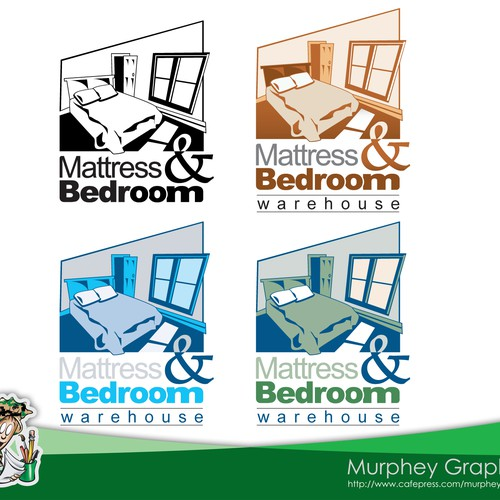 Need Professional Logo for Mattress and Bedroom Warehouse