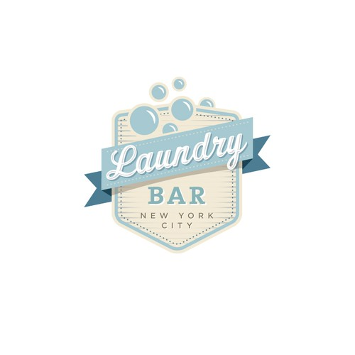 LaundryBar needs a new Retro/Web2.0 logo