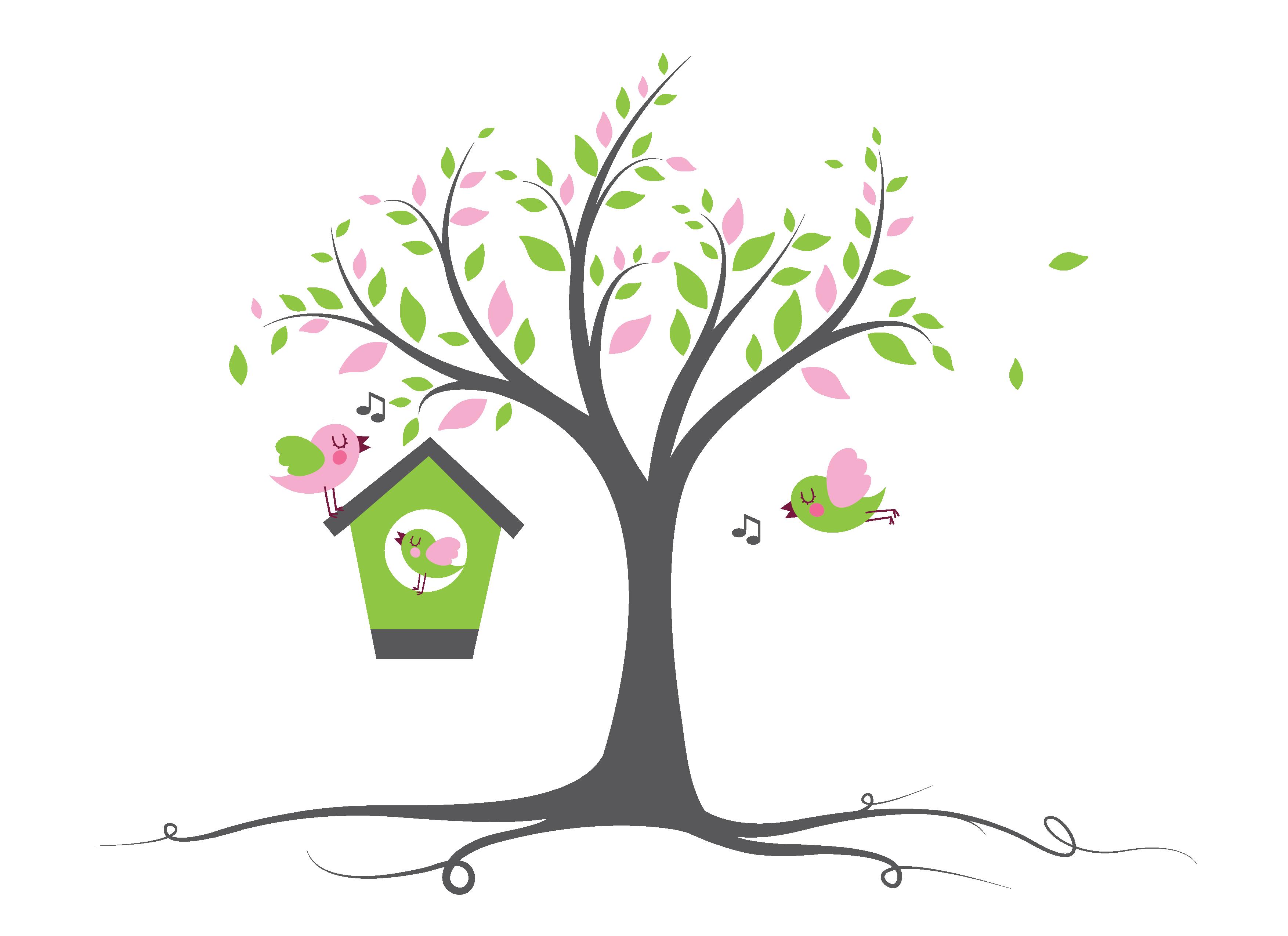 "Designig 4th tree logo for ""anniversaries"" (""Jubiläum)"