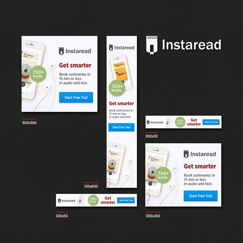 Banners for Instaread