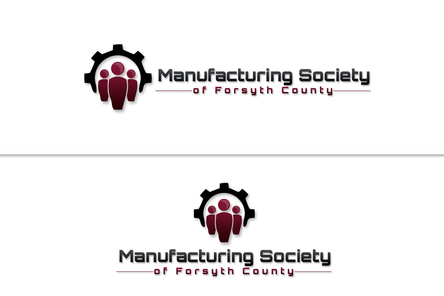 Manufacturing Society of Forsyth County  needs a new logo