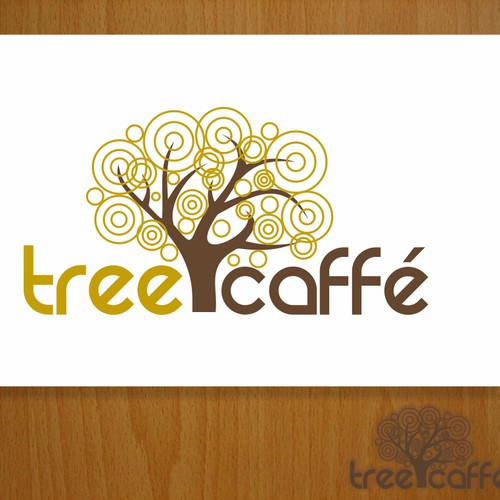 8 Caffe´ or Tree Cafe needs a new logo