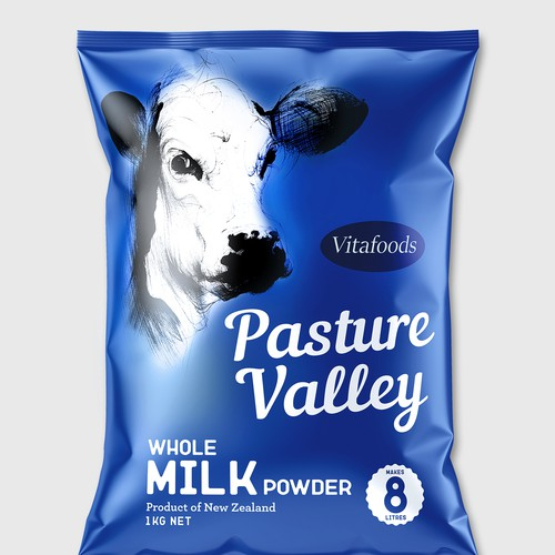 Packing Whole Milk powder Pasture Valley