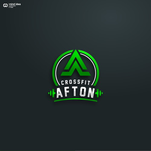 Logo for Crossfit Afton