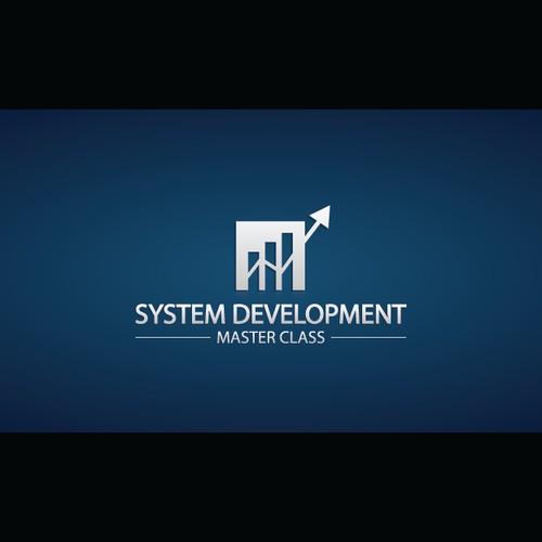 Design a powerful logo for System Development Master Class