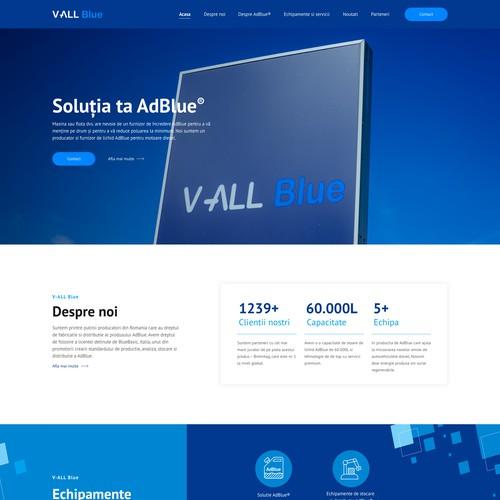 AdBlue Production Website