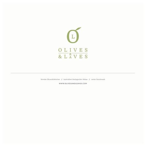 Logokonzept für einen Versandhandel und Hersteller von Olibenblättertees und anderen Bioprodukten