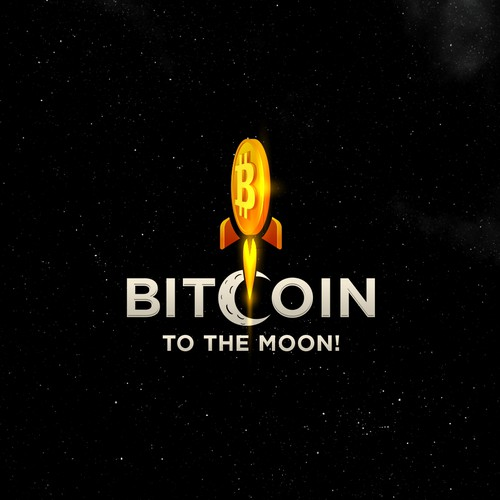 Logo Concept for Bitcoin To The Moon!