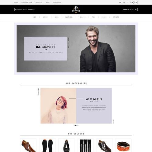 Luxury Ecommerce Web Design