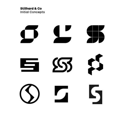 Logo concepts for Stillhard & Co