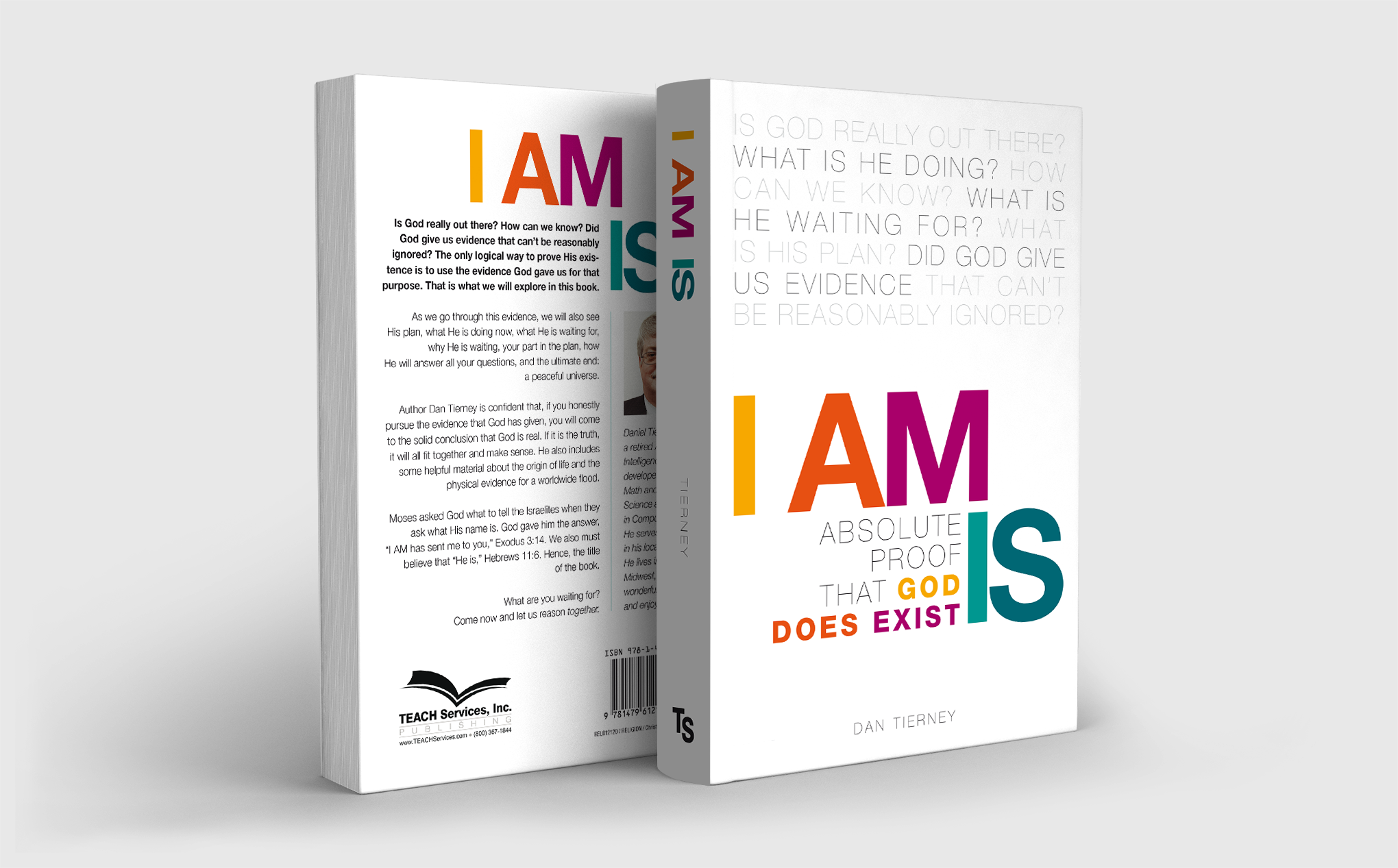 "Book Cover Jacket: ""I AM IS"""