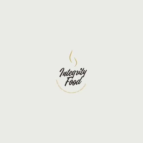 logo Concept for integrity food