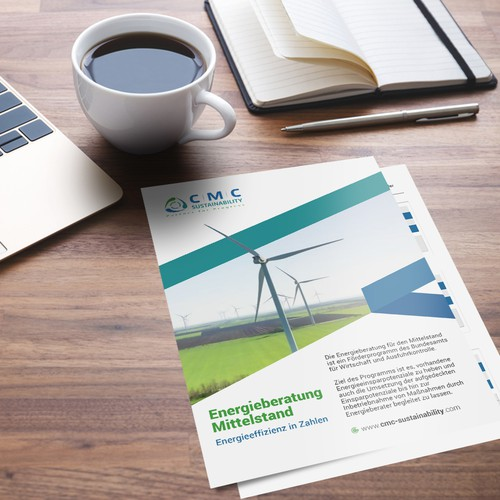 CMC Sustainability GmbH (Flyer Design)