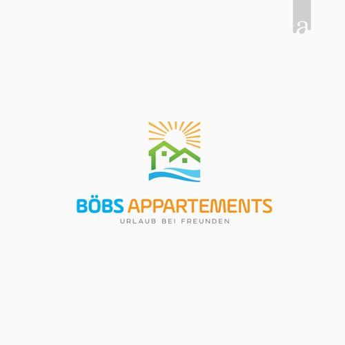 Logo concept for Boebs Apartment