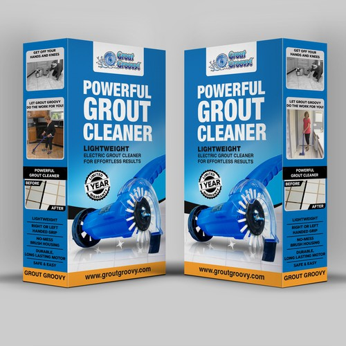 Grout Groovy Product Packaging