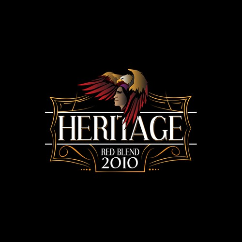 Logo for Heritage - Wine Company