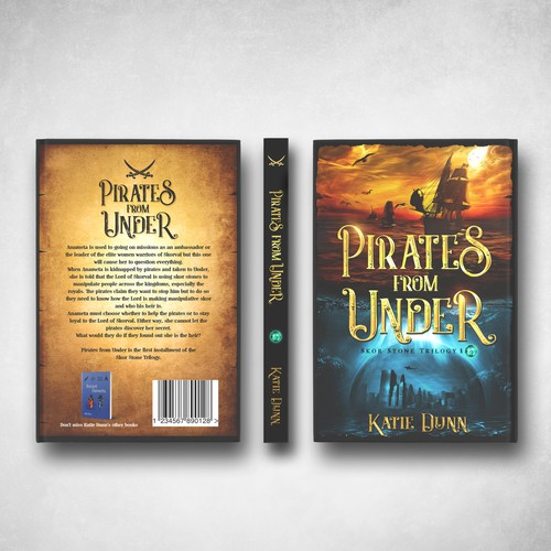 'Pirates from Under' book cover