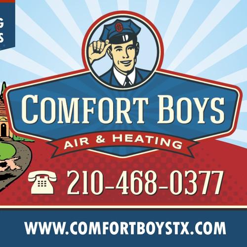 billboard design for air condition service