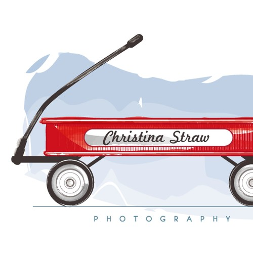 Christina Straw Photography needs a new logo.  Something whimsical and fun!