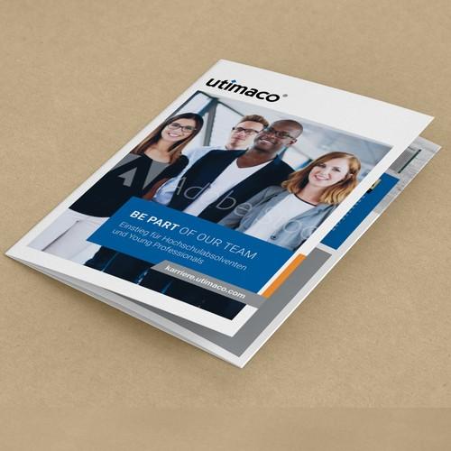 Recruitment trifold broschure