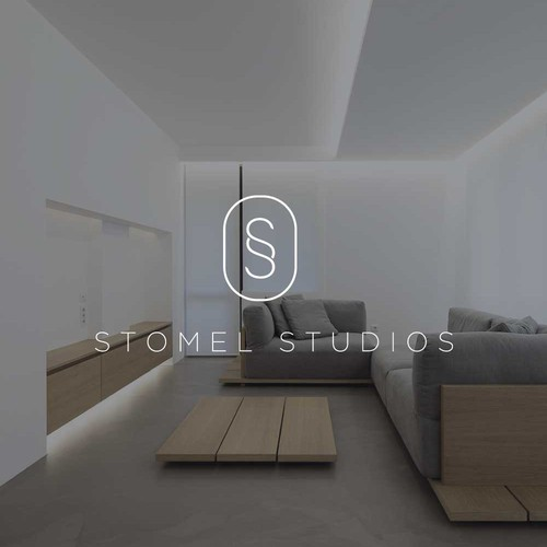 Minimal Logo Design for Stomel Studios