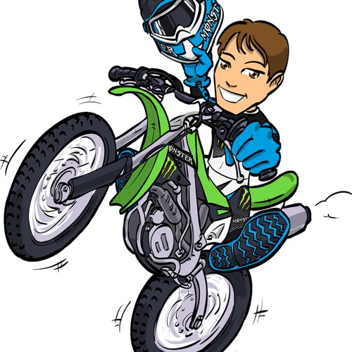 Tommy Searle mascot  illustration needed