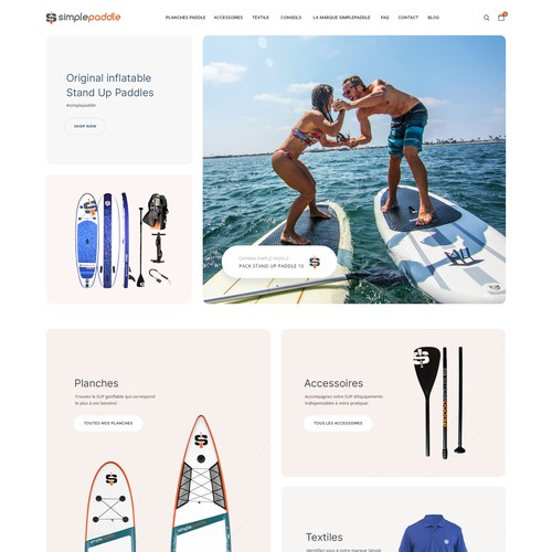 Simple Paddle  eCommerce