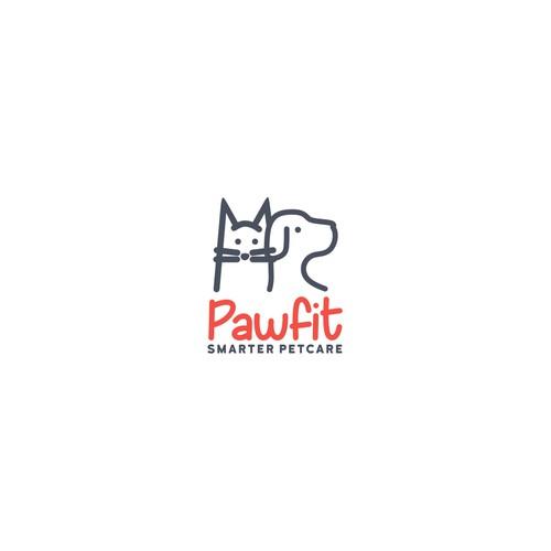 Design a logo for a smart petcare brand.