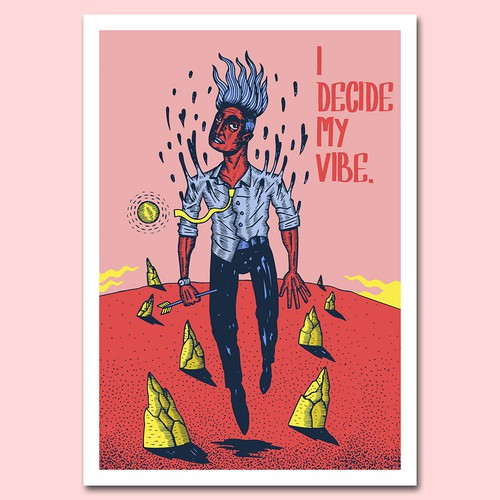 Design a motivational poster for 2020