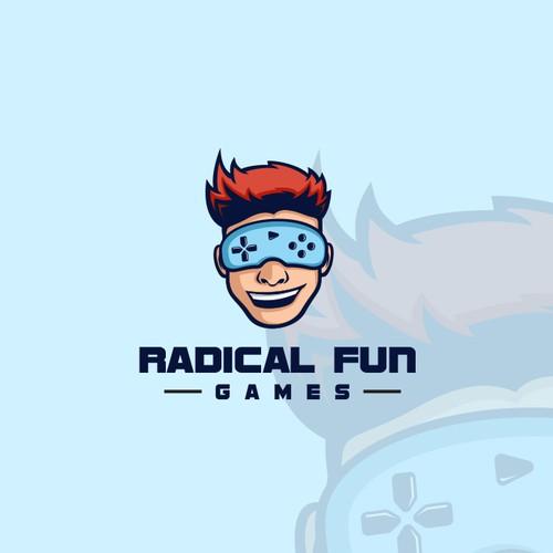 Logo for Radical Fun Games