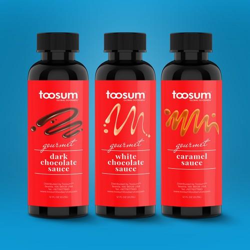 tossum chocolate sauce