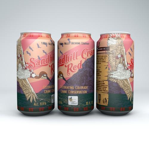 Beer Can Art Featuring Local Bird
