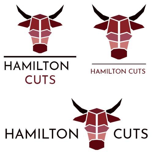 Butcher shop logo.