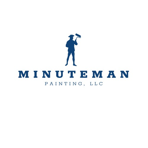 Logo for Minuteman Painting
